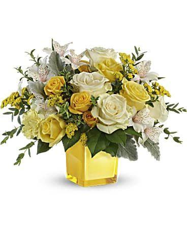 """<p><strong>Teleflora</strong></p><p>teleflora.com</p><p><strong>$66.49</strong></p><p><a href=""""https://go.redirectingat.com?id=74968X1596630&url=https%3A%2F%2Fwww.teleflora.com%2Fbouquet%2Ftelefloras-sweet-sunlight-bouquet%3FprodID%3DP_TEV59-5A%26skuId%3DTEV59-5A&sref=https%3A%2F%2Fwww.cosmopolitan.com%2Fstyle-beauty%2Ffashion%2Fg33458916%2Fhauliday-biggest-discounts%2F"""" rel=""""nofollow noopener"""" target=""""_blank"""" data-ylk=""""slk:Shop Now"""" class=""""link rapid-noclick-resp"""">Shop Now</a></p><p>You might as well send someone special a bouquet because they'll be <strong>40 percent off with the code KLARNAHAULIDAY</strong>.</p>"""
