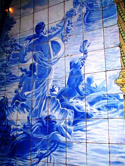"Azuleijos, the blue tiles influenced by Portuguese tiles, are still visible, though in only a few parts of Goa. Recent years have seen a revival of interest in things Portuguese, now with less of the colonial smear of the past and what some describe as ""Lusostalgia""."