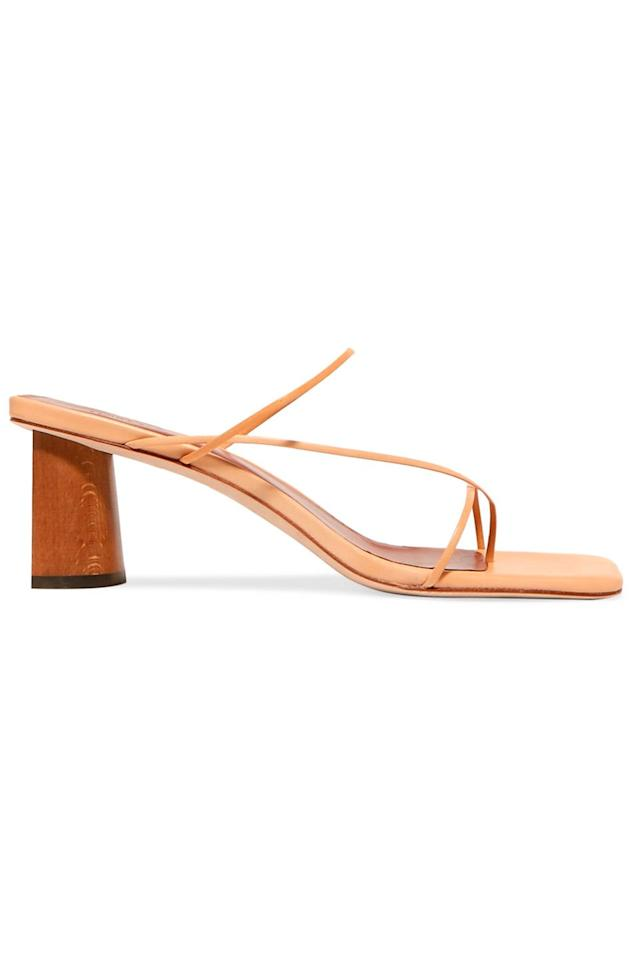 """<p><a class=""""body-btn-link"""" href=""""https://www.net-a-porter.com/gb/en/product/1137092/rejina_pyo/harley-leather-sandals"""" target=""""_blank"""">SHOP NOW</a></p><p>Breathe life into your spring wardrobe with a pair of Rejina Pyo's barely-there mules.</p><p><em>Leather sandals, £375, Rejina Pyo at Net-a-Porter</em></p>"""