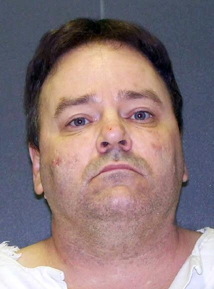 This handout image provided by the Texas Department of Criminal Justice shows convicted killer Tommy Lynn Sells, who is scheduled to die Thursday, April 3, 2014. On Wednesday, April 2, 2014, a federal appeals court threw out a ruling requiring the Texas prison system to disclose more information about where it gets lethal-injection drugs, reversing a judge who had halted the upcoming execution. (AP Photo/Texas Department of Criminal Justice)