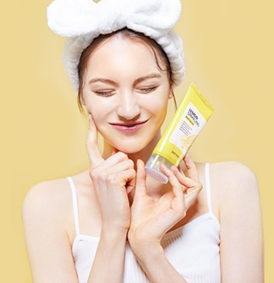 Secret Key Lemon Sparkling Peeling Gel (Photo via Secret Key Official/Instagram)