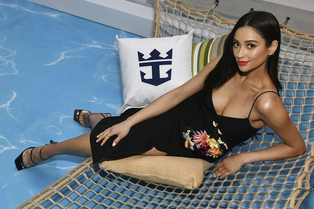 "<p><strong>Who:</strong> Shay Mitchell</p><p><strong>Affordable Fashion Find: Nine West</strong> sandals, $119, <a rel=""nofollow"" href=""http://www.ninewest.com/Gabelle-Strappy-Sandals/35017905,default,pd.html"">ninewest.com</a>.</p><p><a rel=""nofollow"" href=""http://www.ninewest.com/Gabelle-Strappy-Sandals/35017905,default,pd.html"">SHOP</a></p><p><strong>Why We Love It: </strong>For its 40th anniversary, Nine West is going retro with a collection of shoes that will take you back in time. The star item? Square-toed strappy sandals–you know the ones you wore to your middle school dances and prom. Celebrities like Shay Mitchell, Emma Roberts, and Olivia Culpo can't get enough of the look. And at under $150, the throwback style is affordable for all of us to try this season. </p>"
