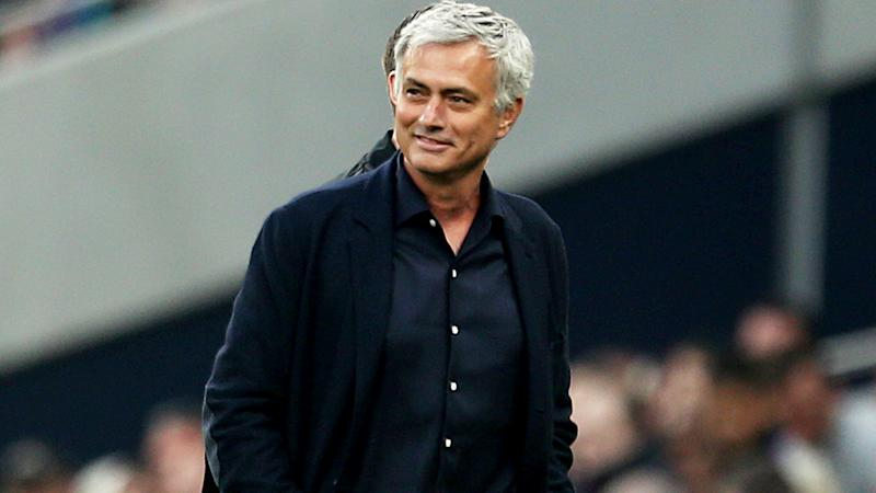 Jose Mourinho, pictured, will coach Tottenham.