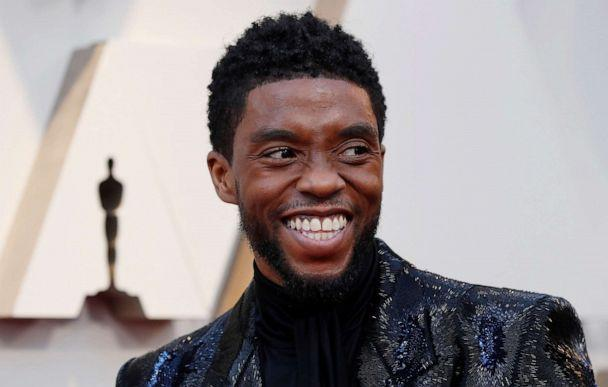 PHOTO: Chadwick Boseman arrives to the 91st Academy Awards in Los Angeles, Feb. 24, 2019. (Mario Anzuoni/Reuters, FILE)