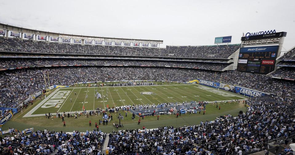 The San Diego Chargers reportedly will relocate to Los Angeles. (AP)