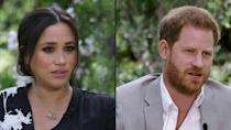 Prince Harry's wife Meghan Markle speaks of her suicidal thoughts during her tell-all interview with Oprah Winfrey