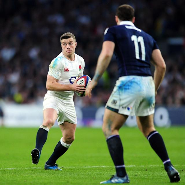 <span>George Ford can be a turnstile at times</span> <span>Credit: REX </span>