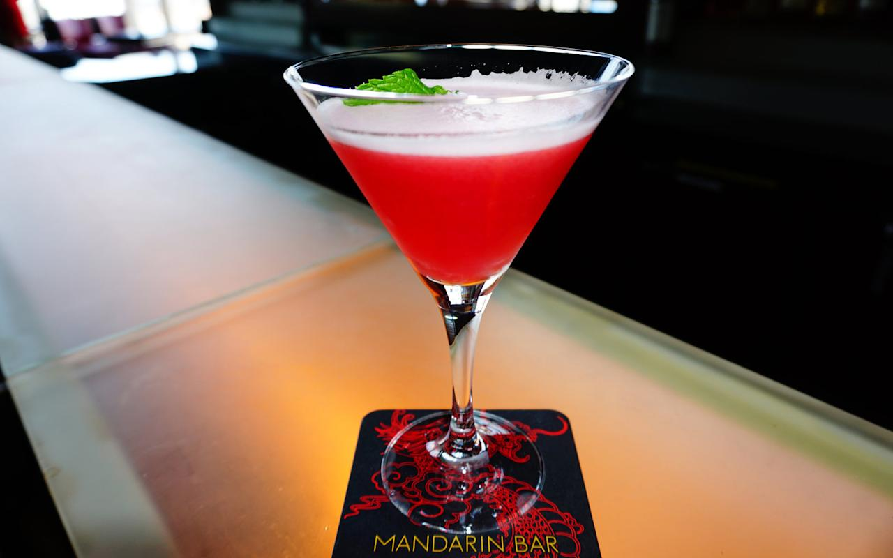"<p><em>""Pisces have a wild imagination and great artistic ability. We used our imagination to design a refreshing cocktail, using unique flavors.""</em></p>  <p><strong>Ingredients</strong></p>  <p>6 raspberries?</p>  <p>3/4 oz simple syrup?</p>  <p>1/4 oz Chambord?</p>  <p>1 oz Hendrick's?</p>  <p>1/2 oz Lillet Blanc?</p>  <p>1/2 oz Lillet Rouge?</p>  <p>-1/2 oz fresh lemon juice?</p>  <p>Dash egg whites?</p>  <p><strong>How-To</strong></p>  <p>Combine ingredients and shake well</p>  <p>Serve up in a martini glass?</p>  <p>Garnish with a mint leaf</p>"