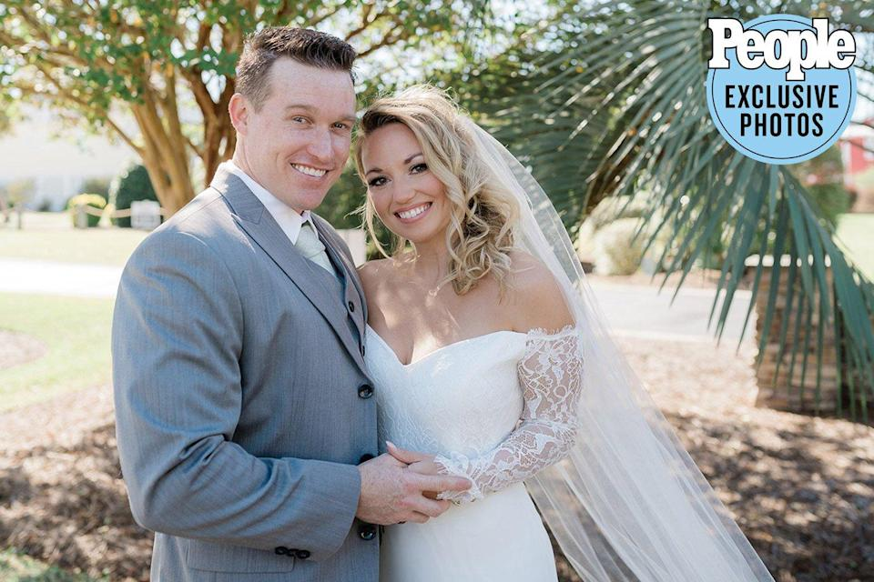 Married at First Sight 's Cortney Hendrix Weds Fiancé Sherm in Peaky Blinders -Themed Wedding