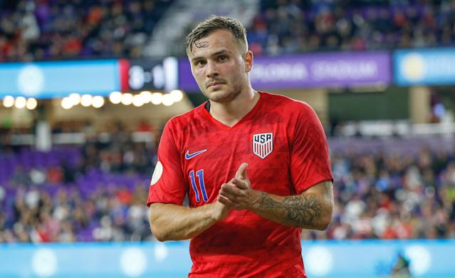 At 25, Jordan Morris is one of the most experienced players on the USMNT's January camp roster. (Reinhold Matay/USA Today)