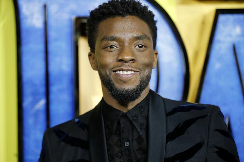 """Actor Chadwick Boseman is the star of """"Black Panther,"""" which is continuing to set box office records"""
