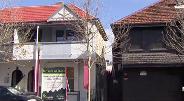 Ben Napier fell from the roof of the building on the left, with Jack Rabbit Slim's nightclub on the right. Source: 7 News