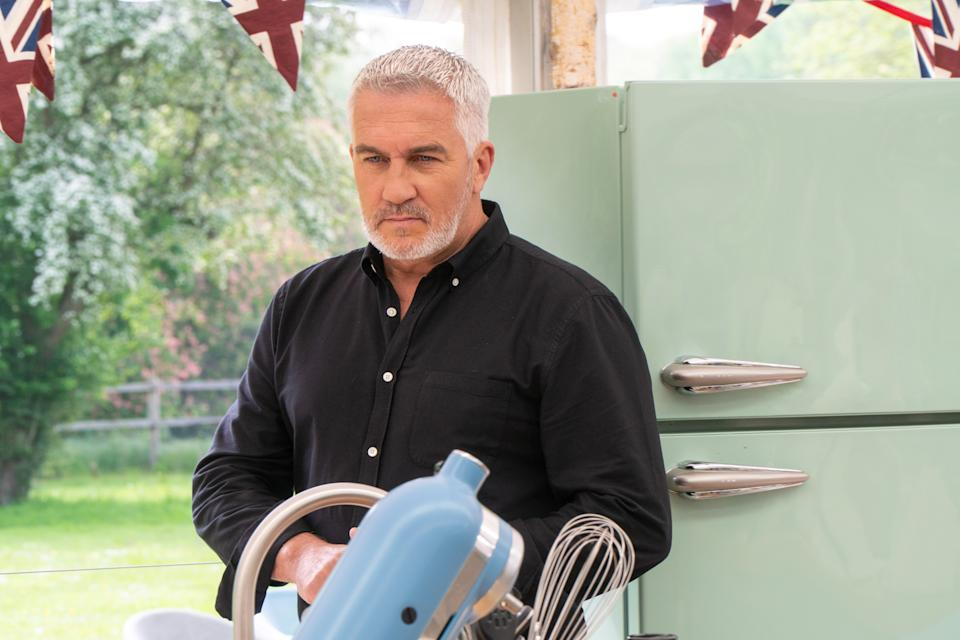 Paul Hollywood says the latest series of 'The Great British Bake Off' scuppered his fitness plan. (Channel 4)