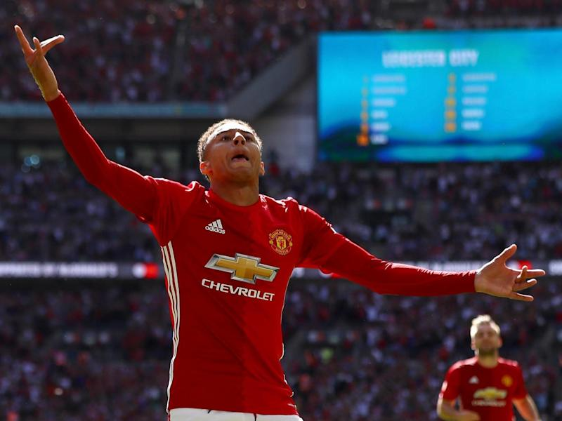 Lingard often divides fan opinion despite rising through the ranks at United (Getty)