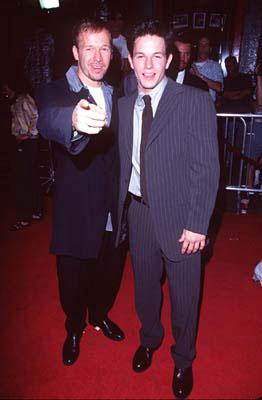 """Premiere: <a href=""""/movie/contributor/1800024619"""">Donnie Wahlberg</a> and <a href=""""/movie/contributor/1800019716"""">Mark Wahlberg</a> at the Hollywood premiere of New Line's <a href=""""/movie/1800020724/info"""">Boogie Nights</a> - 10/15/1997<br><font size=""""-1"""">Photo: <a href=""""http://www.wireimage.com"""">Steve Granitz/Wireimage.com</a></font>"""