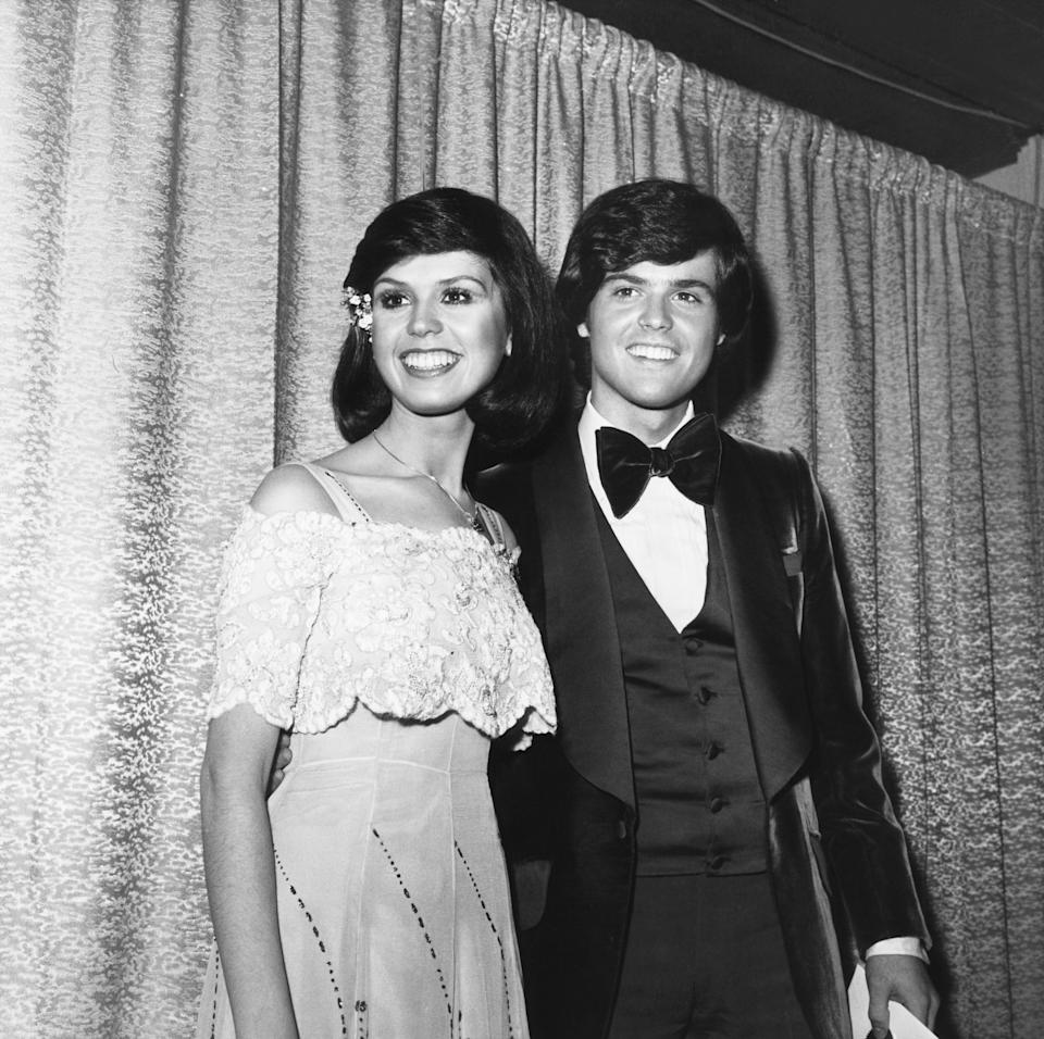 Siblings Marie and Donny Osmond, pictured here in 1976, starred in their own show from that year until 1979. (Photo: Everett Collection)