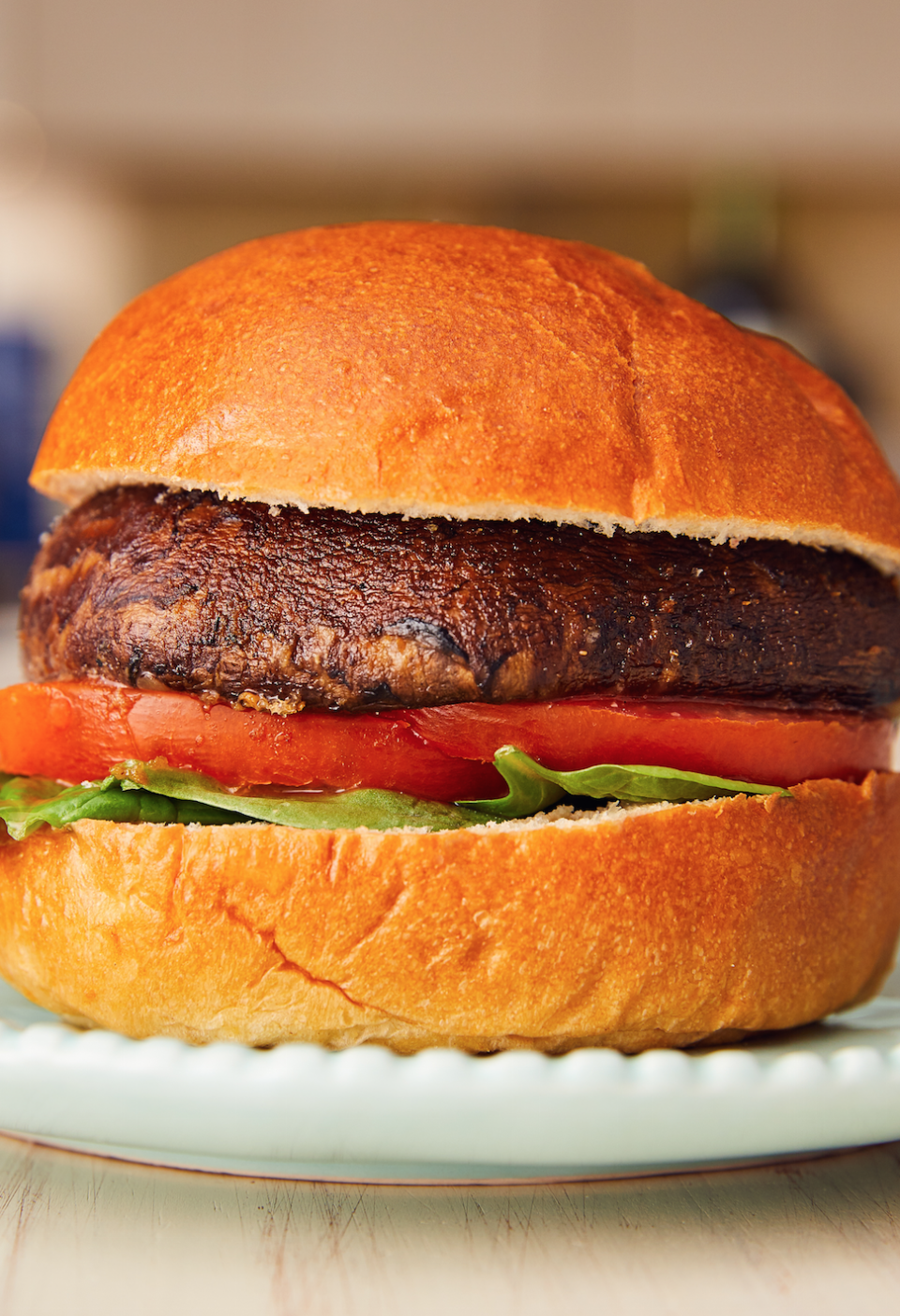 """<p>Portobellos are so thick and meaty, it's almost like you've got a beef patty in there.</p><p>Get the recipe from <a href=""""https://www.delish.com/cooking/a22487040/portobello-mushroom-burger/"""" rel=""""nofollow noopener"""" target=""""_blank"""" data-ylk=""""slk:Delish."""" class=""""link rapid-noclick-resp"""">Delish.</a></p>"""