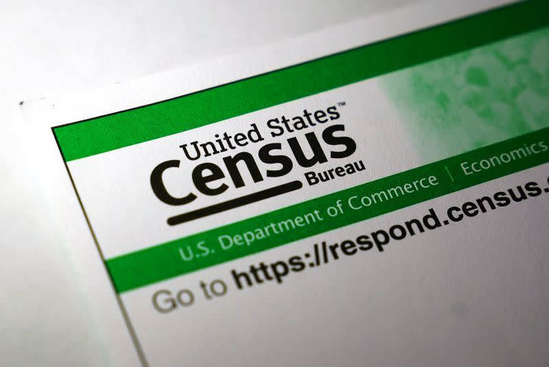 FILE PHOTO: U.S. Census pamphlets and paperwork are pictured iin the Manhattan borough of New York City