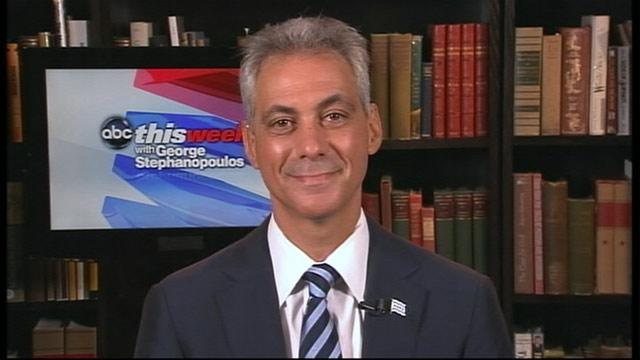 Rahm Emanuel to Mitt Romney: 'Stop Whining' About Bain Attacks