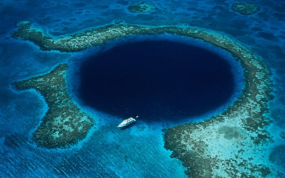 Belize is heaven for diving - Getty