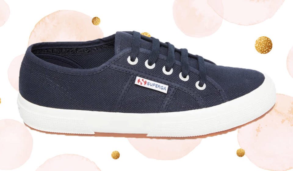 This unisex sneaker is the ultimate classic. (Photo: Superga)