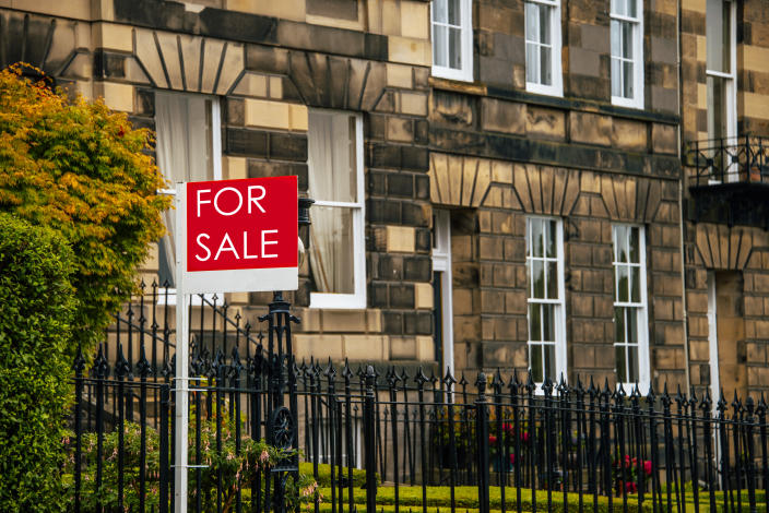 The Halifax House Price Index, showed that house prices reached an all-time high in July. Photo: Getty
