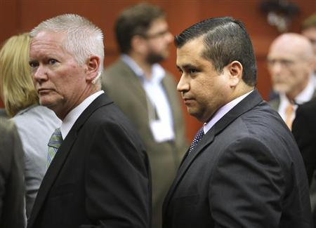 George Zimmerman leaves the courtroom a free man after being found not guilty in the 2012 shooting death of Trayvon Martin at the Seminole County Criminal Justice Center in Sanford Florida