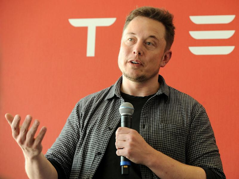 Elon Musk says Tesla will 'obviously' take on rivals Uber