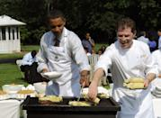 <p>On <em>BBQ with Bobby Flay,</em> the chef tapped into one of America's favorite pastimes: eating BBQ. If you're known for firing up the grill, you'll love watching Flay as he travels across the country to find some of the best unknown BBQ joints and uncover their grilling secrets.</p>
