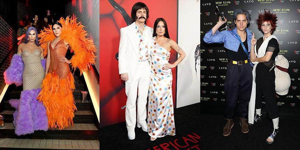 "<p>If your goal is to win the costume contest this year, take note, because no one does <a href=""https://www.marieclaire.com/celebrity/g3149/favorite-celebrity-halloween-costumes/"" rel=""nofollow noopener"" target=""_blank"" data-ylk=""slk:Halloween like Hollywood"" class=""link rapid-noclick-resp"">Halloween like Hollywood</a>. Sure, loads of money and glam teams make it possible, but these A-listers also know that pulling inspiration from iconic duos from history is key. From Sonny and Cher to Beetlejuice and Lydia, we rounded up the best celebrity couple Halloween costumes through the years. Whether you're looking for inspiration for you and your boo or are just browsing, please enjoy these epic costumes.</p>"