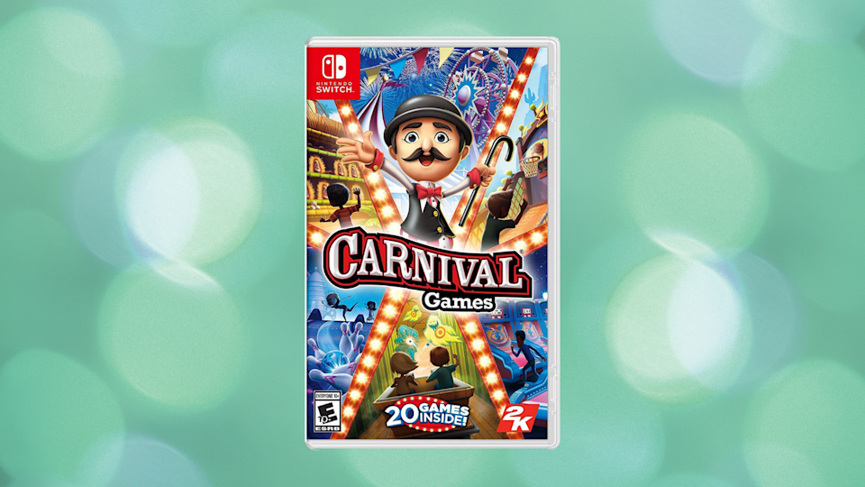 Save a whopping 63 percent on Carnival Games for Nintendo Switch. (Photo: Walmart)