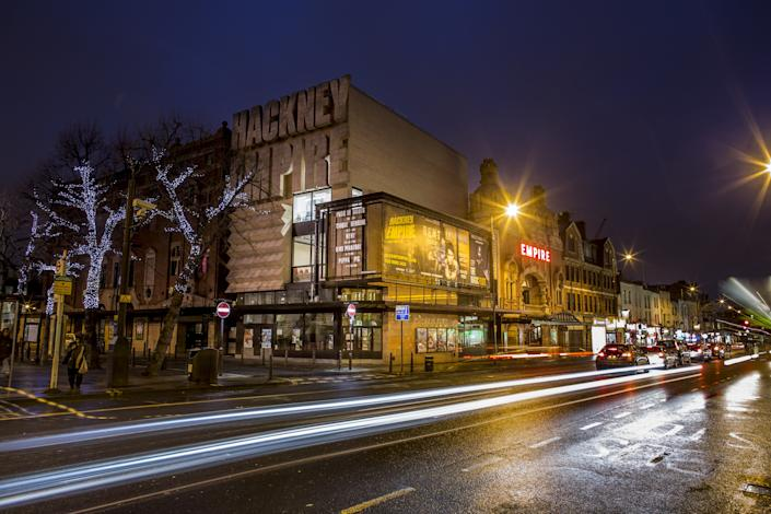 The Hackney Empire features a variety of performances, including stand-up comedy, concerts, opera, and more.