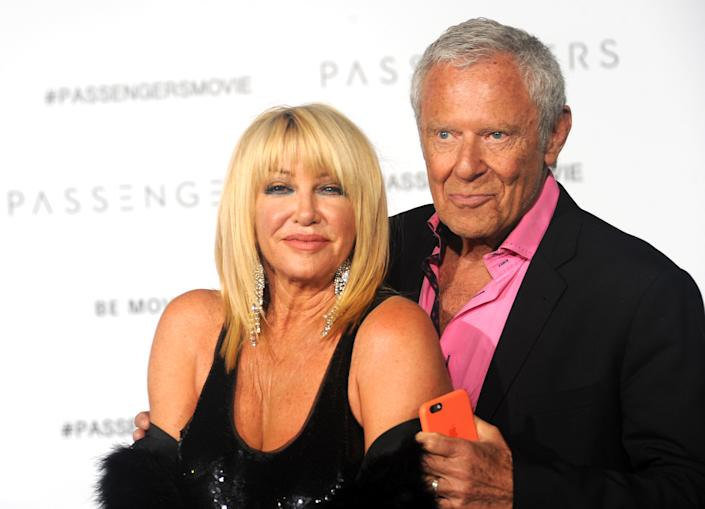 Somers and husband Alan Hamel have been married since 1977. (Photo: Albert L. Ortega/Getty Images)