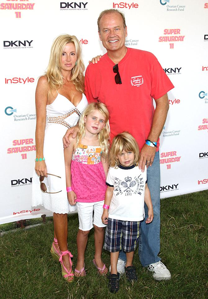 "<p class=""MsoNormal"">Kelsey Grammer and third wife, former dancer and ""Real Housewives of Beverly Hills"" cast member Camille Grammer, may have had a public and painful breakup, but more than a decade ago the two were in love enough to start a family together via surrogate. Camille, now 45, has said the couple went the surrogate route because she suffers from irritable bowel syndrome, which could have caused pregnancy complications. Son Jude is now 8 while daughter Mason will turn 11 in October. </p>"