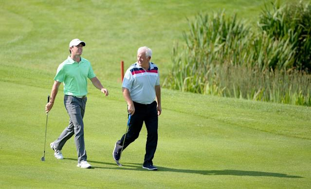 Rory McIlroy's dad could cash in huge on a 10-year-old bet