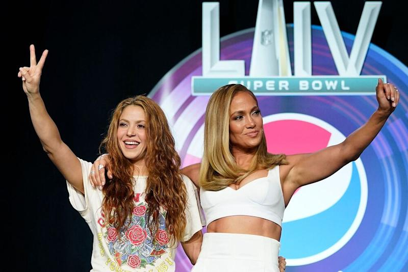 Shakira and J. Lo | David J Phillip/AP/Shutterstock