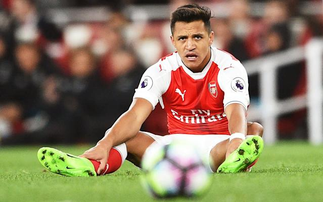Alexis Sanchez is known to want to stay in London - EPA