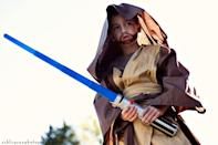 """<p>Even a Jedi likes to save cash, and using inexpensive bedsheets for this Obi-Wan costume will help you do just that.</p><p><strong>Get the tutorial at <a href=""""http://www.ashleyannphotography.com/blog/2010/11/01/diy-star-wars-costumes/"""" rel=""""nofollow noopener"""" target=""""_blank"""" data-ylk=""""slk:Under the Sycamore"""" class=""""link rapid-noclick-resp"""">Under the Sycamore</a>.</strong></p><p><a class=""""link rapid-noclick-resp"""" href=""""https://go.redirectingat.com?id=74968X1596630&url=https%3A%2F%2Fwww.walmart.com%2Fip%2FMainstays-200-Thread-Count-Standard-Pillowcase-Dark-Brown%2F223664956&sref=https%3A%2F%2Fwww.countryliving.com%2Fdiy-crafts%2Fg21287723%2Fdiy-star-wars-costumes%2F"""" rel=""""nofollow noopener"""" target=""""_blank"""" data-ylk=""""slk:SHOP BEDSHEETS"""">SHOP BEDSHEETS</a><br></p>"""