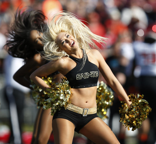 The New Orleans Saintsations is under fire for alleged gender discrimination. (Photo: AP Photo/Brynn Anderson)