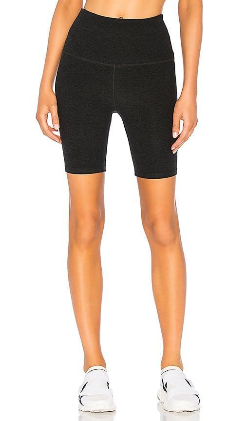 <p>These <span>Beyond Yoga High Waisted Biker Shorts</span> ($70) are made from Beyond Yoga's signature supersoft Spacedye fabric.</p>