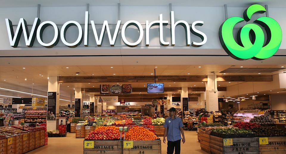 A Woolworths shopper said her daughter chewed part of a slug disguised in a