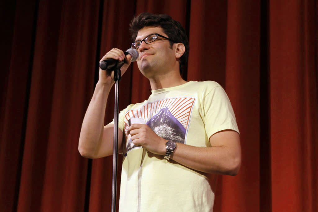 "Cast member Dan Mintz performs during ""Bob's Burgers Live!""  at the WIlshire Ebell Theatre on Tuesday, May 7 in Los Angeles, CA."