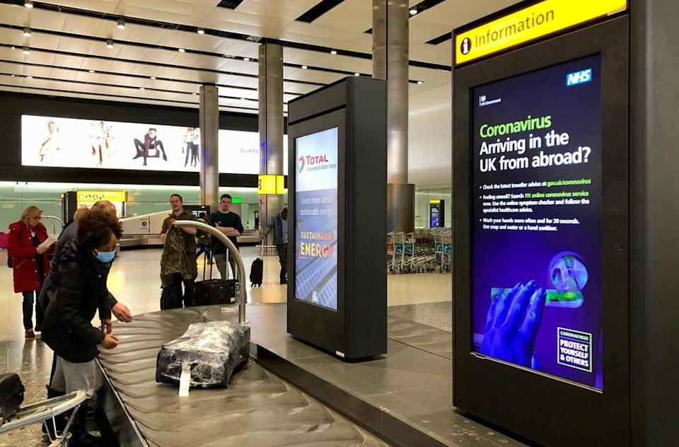 Which? has warned that airlines are giving out incorrect information on Covid testing requirements that could see passengers turned away from flights and ineligible for refunds (Bradley Collyer/PA) (PA Archive)
