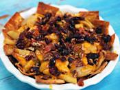 """<p>All of the flavors you crave from a gooey apple pie, but in an easy-to-make, highly shareable format. </p> <p><a href=""""https://www.myrecipes.com/recipe/apple-pie-nachos"""" rel=""""nofollow noopener"""" target=""""_blank"""" data-ylk=""""slk:Apple Pie Nachos Recipe"""" class=""""link rapid-noclick-resp"""">Apple Pie Nachos Recipe</a></p>"""