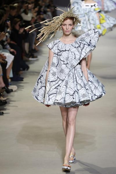 Vlisco hits the Viktor&Rolf runway in Paris during Haute Couture week last month.