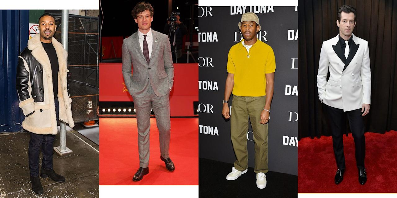 <p>Our Friday hat tip to the men who tried - and won - in the style stakes this week.</p>