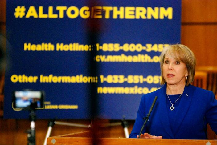New Mexico Gov. Michelle Lujan Grisham comes from a political family.