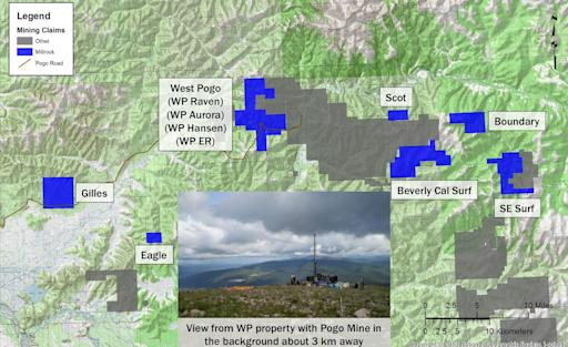Millrock Assembles Land Position in Goodpaster Mining District, Near