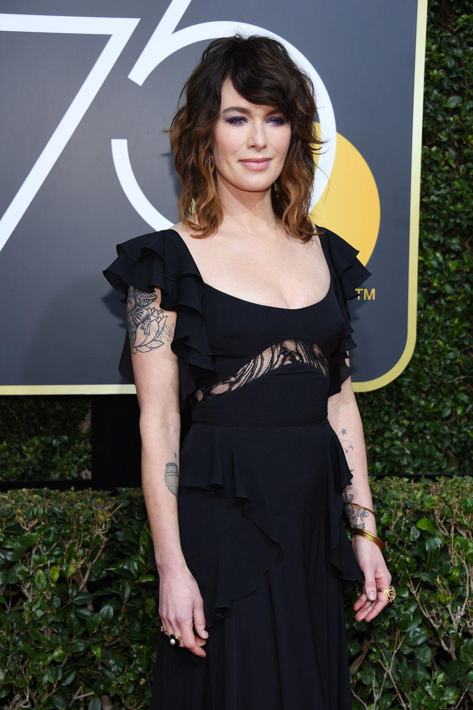 <p>Lena Heady, who plays Cersei Lannister, in 2018.</p>
