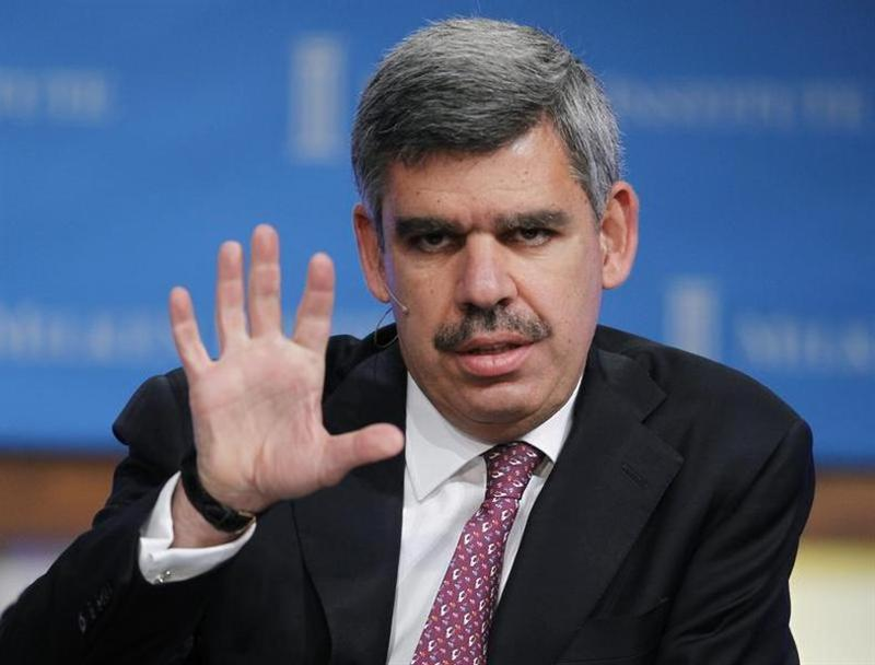 Mohamed El-Erian, CEO and Co-Chief Investment Officer of PIMCO, speaks at the 2011 The Milken Institute Global Conference in Beverly Hills